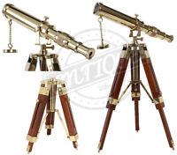 Marine Sailor//Pirate Telescope Spy-Glas With Sun Cap Shoulder Strap Premium Gift