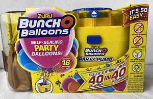 Zuru Bunch O Balloons Self Sealing Party Balloons 16 Balloons and Pump