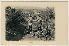 S Africa Busty nude Zulu Women/gioiosi donne nude * VINTAGE 1900s PC