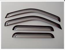 Wind Deflectors Visors/Rain Guards Tinted-Silver Ford Ranger 06-12 4 Doors 4pcs