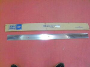1962 Ford Galaxie 500 4-Door Aluminum Door Trim, NOS C2AZ-5420206-A