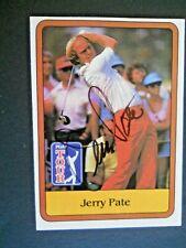Jerry Pate - 1981 PGA Tour Autographed Golf card # 6 - Tour card