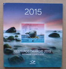 2015 ESTONIA STAMP YEAR PACK ALL 29 STAMPS MINT