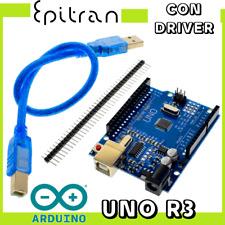 Arduino Uno board kit r3 rev 3 rev3 compatibile clone con cavo USB driver scheda