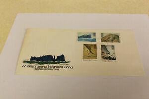 1980 Tristan da Cunha F.D.C. - UN-ADDRESSED