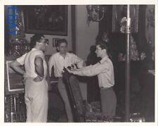 George Cukor Bill Daniels Katharine Hepburn Photo From Original Negative