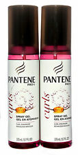 Pantene Pro-V Curls Spray Gel Curl Enhancer 5.7 oz. Lot of 2