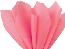 "Coral Rose Tissue Paper 20x30"" 480 Sheet Ream Eco-Friendly Showers Weddings Poms"