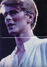★ David Bowie: 8-seitiges-Großposter aus POPCORN '83 mit '78er Motiv