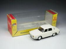 NOREV - n°9 - Renault 10 - Blanche - Boite tardive peu courante - 1/43e