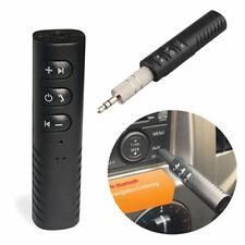 Handsfree Wireless Car Bluetooth Receiver 3.5mm AUX Music Stereo Audio Adapte_QA