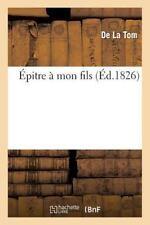 Epitre a Mon Fils by La Tom-D (2015, Paperback)