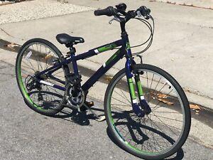 "Diamondback Insight 24 Kids' Bike 4"" Wheel Blue Green"