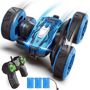 RC Cars Stunt Car Remote Control Car Double Sided 360° Flips Rotating 4WD Toy