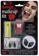 Vampire Halloween Horror Makeup Kit Face Paint Vamp Make Up Fancy Dress