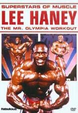 LEE HANEY: SUPERSTARS OF MUSCLE - DVD - REGION 2 UK