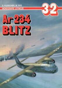 Arado Ar234 BLITZ - AJ Press - Polish Text - 72nd sclae plans - colour plates