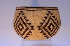 """A Fine Pit River - Achomawi Basket c. 1900 5 3/8"""" x 8 1/4"""""""