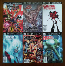 Omega Flight #1-5 - Lot Of 6! Second Print Variant #1 Thor Wrecking Crew - 2007