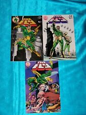 THE FLY # 1-3, 1983, RED CIRCLE Comics, 2 JIM STERANKO covers, VERY FINE MINUS