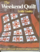 The Weekend Quilt by Leslie Linsley (1986, Hardcover) book