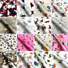 Children's 100% Cotton Branded Novelty Designer Digital Printed Fabric