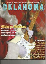 OKLAHOMA MAGAZINE - Oklahoma Musicians - December, 2005
