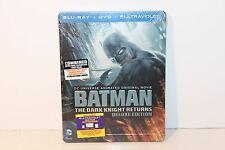 Batman The Dark Knight Returns Deluxe Blu-ray Steelbook Canada NEW SEALED