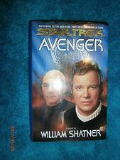 Star Trek Avenger by William Shatner (Hardback, 1997) Sequel to The Return