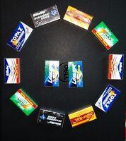 120 mixed INDIAN Double Edge Safety DE Razor Blades sample pack Rasierklingen
