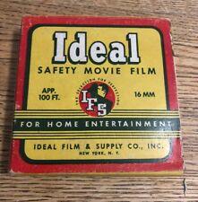 Ideal Safety Movie Film 16 Mm Film