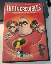 Disney's The Incredibles 2 Disc Collectors Edition Dvd Brand New Sealed