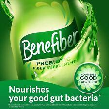 BENEFIBER PREBIOTIC Fiber Supplement Clear & Taste-Free 190 Powder Serving