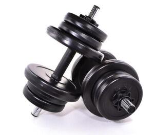 15kg 20kg 30kg 40kg 50kg Dumbells Home Gym Free Weights Body Building Set