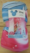 DISNEY PRINCESS SLEEPING BAG - SIZE 66 IN. X 30 IN. - 100% POLYESTER - NWT
