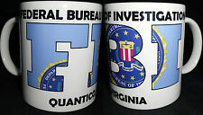 FBI,QUANTICO,BLUE,FUN ,MUG