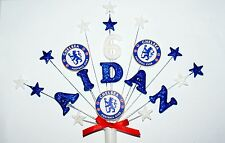 Football team logo custom Birthday cake topper, decoration personalised