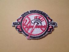 Awesome New York Yankees 100th Anniversary 1903-2003 Iron on Patch 2 1/4""