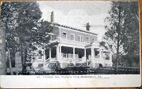 1909 Postcard: Colonial Inn, Olympia Park - McKeesport, Pennsylvania PA