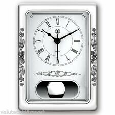 Isabel Prestige Hourglass Table Clock Colour: Sterling Silver