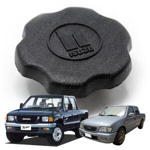 Engine Oil Filler Cap Cover Black Trim Fits Isuzu Tfr Holden Pickup 1988 - 2002