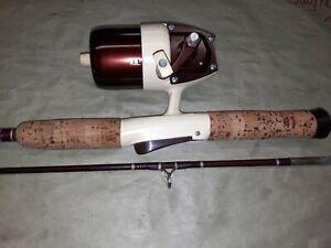 Vintage Bronson 63 Rod / Reel Combo