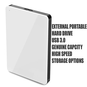 PORTABLE EXTERNAL HIGH SPEED TRANSFER HARD DRIVE UP TO 1TB & 240 SSD