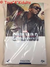 Hot Toys MMS 361 Captain America 3 Civil War Falcon Anthony Mackie Figure NEW