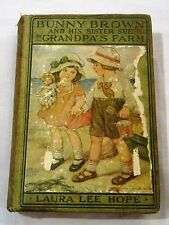 Vintage Bunny Brown and His Sister Sue on Granpa's Farm by Laura Lee Hope
