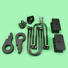 """2002-2005 Dodge Ram 1500 4WD Lift Kit Front Torsion 3"""" Rear 2"""" Shock Extender"""