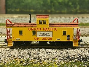 N - Intermountain NSE INT 12-31 Union Pacific CA-4 Safety Caboose UP25730 N4819