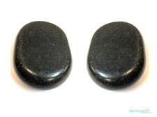 Duo Massage Stone Basalt Heated Treatment 2 Lrg Stones