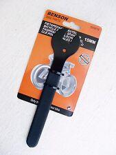 Pedalschlüssel Konusschlüssel Maulweite 15mm Dicke 2mm gummierter Griff