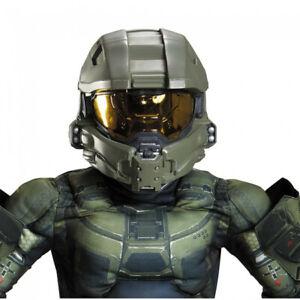 Master Chief Halo Child Full Helmet Halo XBOX John-117 Mask Accessory Green